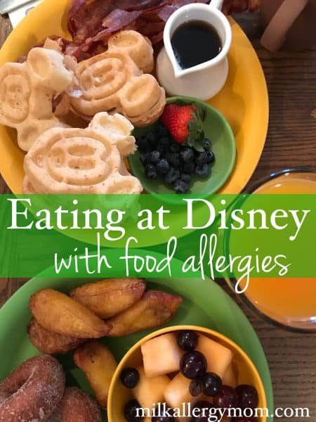 Eating at Disney World with Food Allergies