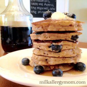 Oat Buttermilk Pancakes