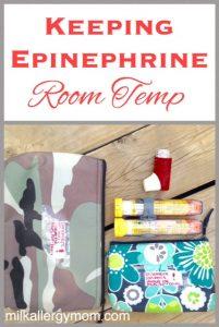 Regulating Epinephrine EpiPen Temperatures
