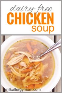 Chicken Soup {Dairy-Free}