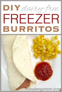 Freezer Bean Burritos {Dairy-Free}