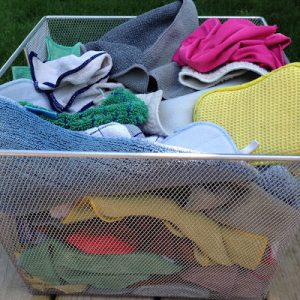 Organizing Microfiber Cloths