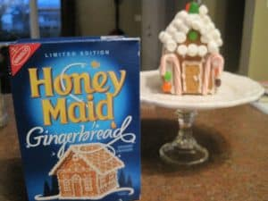 Allergy-Friendly Gingerbread House