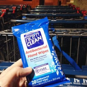 Nice 'n CLEAN Wipes for Holiday Shopping