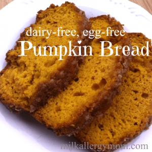Pumpkin Bread {Dairy-Free & Egg-Free}
