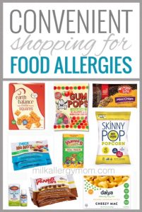 Convenient Shopping For Food Allergies