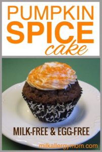 Spice Cake {Dairy-Free & Egg-Free}