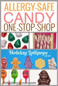 Christmas Treats at Natural Candy Store {Dairy-Free}