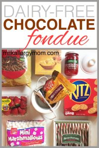 Allergy-Friendly Chocolate Fondue: Great For Classroom Parties