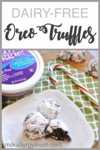 Oreo Truffles {Dairy-Free}