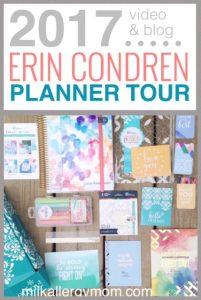 2017 Erin Condren Planner Tour