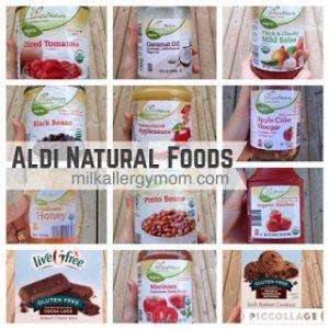 Our Favorite Natural Foods at Aldi