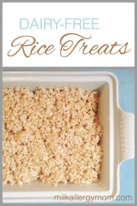 Rice Crispy Treats {Dairy-Free & Soy-Free}