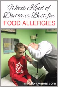 What Kind of Doctor for Food Allergies?