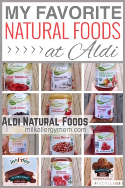 Milk-Free Finds ~ Natural Foods at Aldi