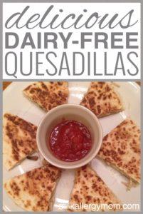 Chicken Quesadillas {Dairy-Free}