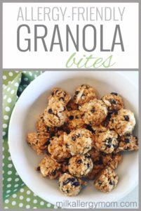 Allergy-Friendly Granola Bites