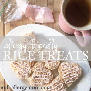 Dairy-Free Rice Crispy Treats