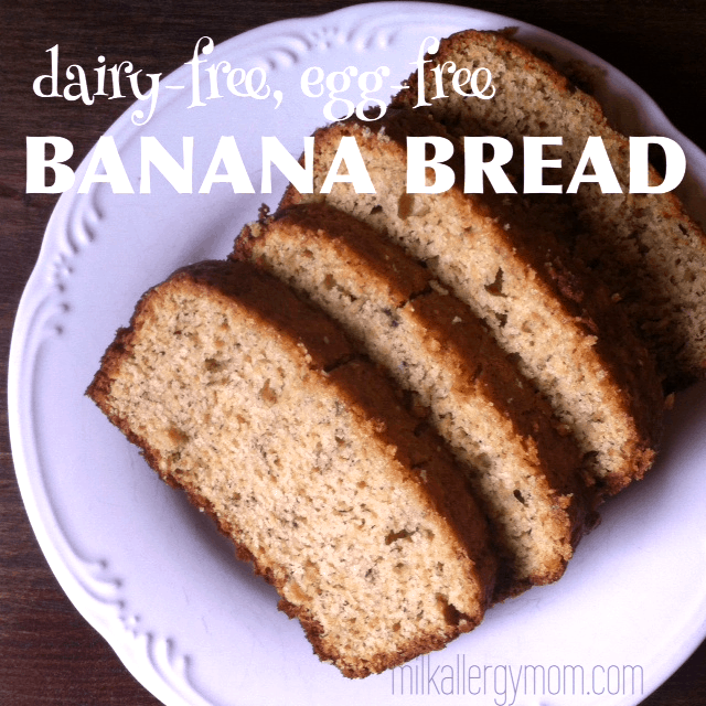 The Best Milk and Egg Free Banana Bread