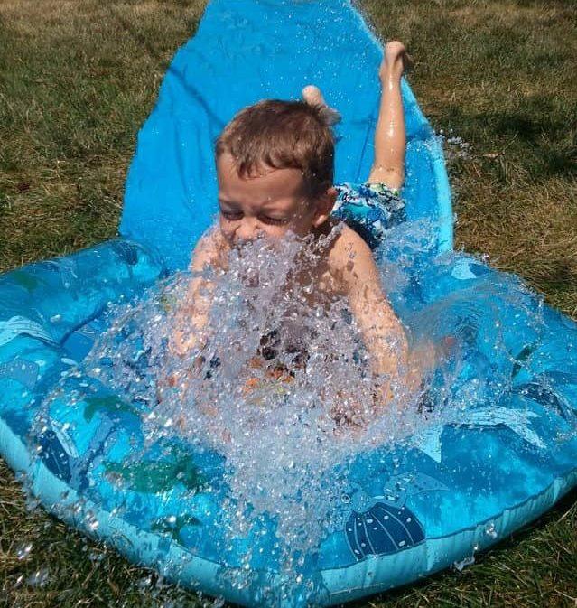 backyard water party