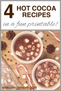 Dairy-Free Hot Chocolate 4 Ways – Instant to Stove Top