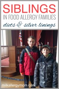 Siblings of Food Allergy Children ~ Finding Balance