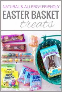Dairy-Free Easter Basket Treats