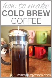 Cold Brew Coffee at Home