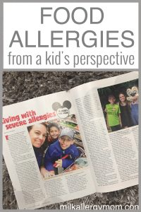Disney & Food Allergies