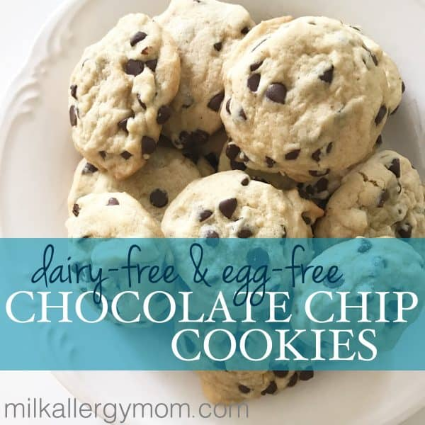 milk free chocolate chip cookies
