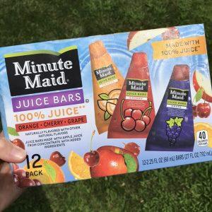 Milk-Free Find: Minute Maid Frozen Juice Bars