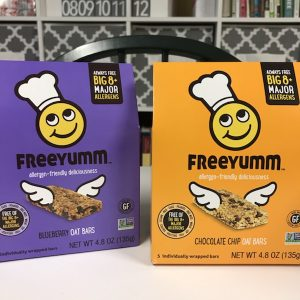 Dairy-Free Find: FreeYumm Granola Bars