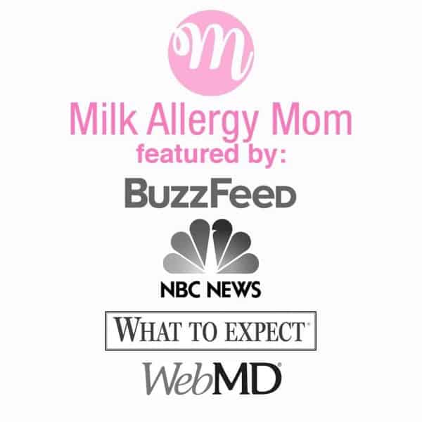 Milk Allergy Mom
