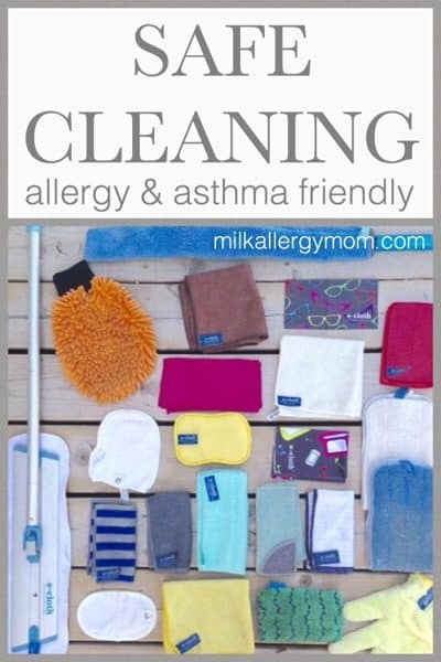 Natural Cleaning For Allergy & Asthma Using E-Cloth