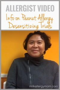 Allergist Interview: Peanut Desensitizing Trials (VIDEO)