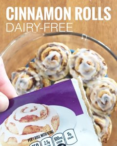 Dairy-Free Find: Generic Cinnamon Rolls