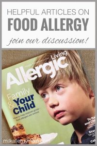 Allergic Living Magazine Discussion