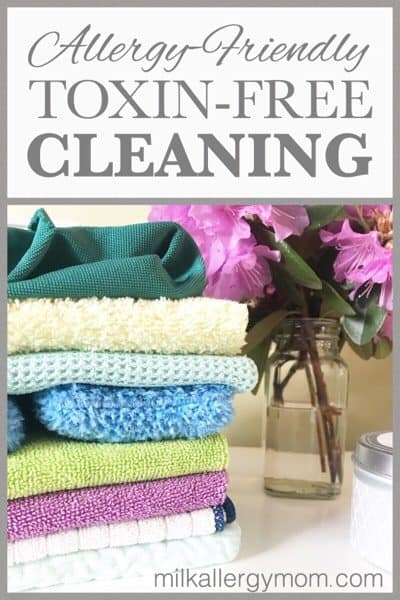 Allergy Asthma Friendly Cleaning with Microfiber Ecloth