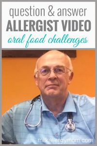 Allergist Video: Oral Food Challenges
