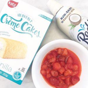 Dairy-Free Twinkie Creme Cakes by Katz