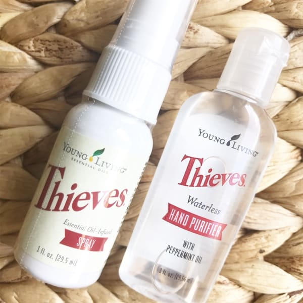 Young Living Thieves and Allergies