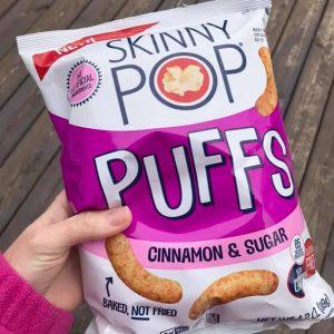 Dairy-Free Cinnamon Sugar Puffs by Skinny Pop