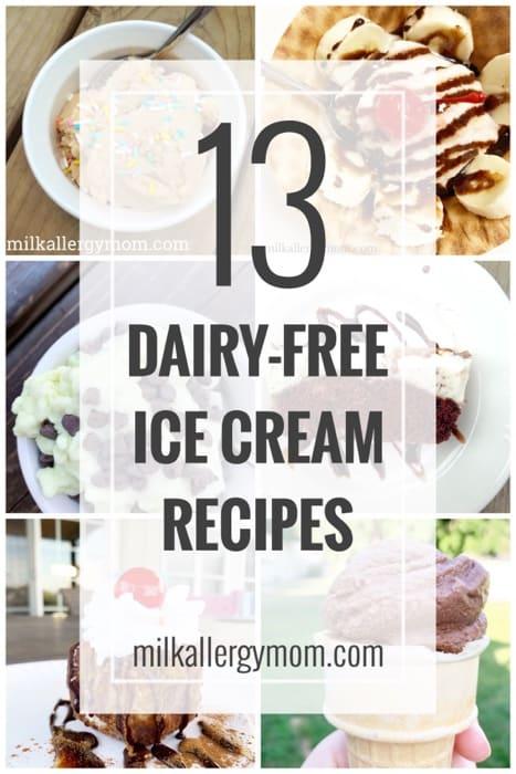 13 Dairy Free Ice Cream Recipes