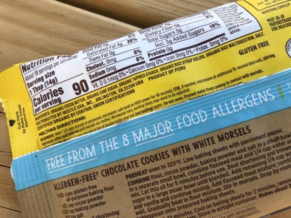 Dairy-Free White Chocolate Chips
