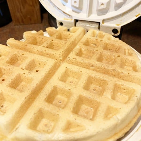 Freezer Milk-Free and Egg-Free Waffles Recipe