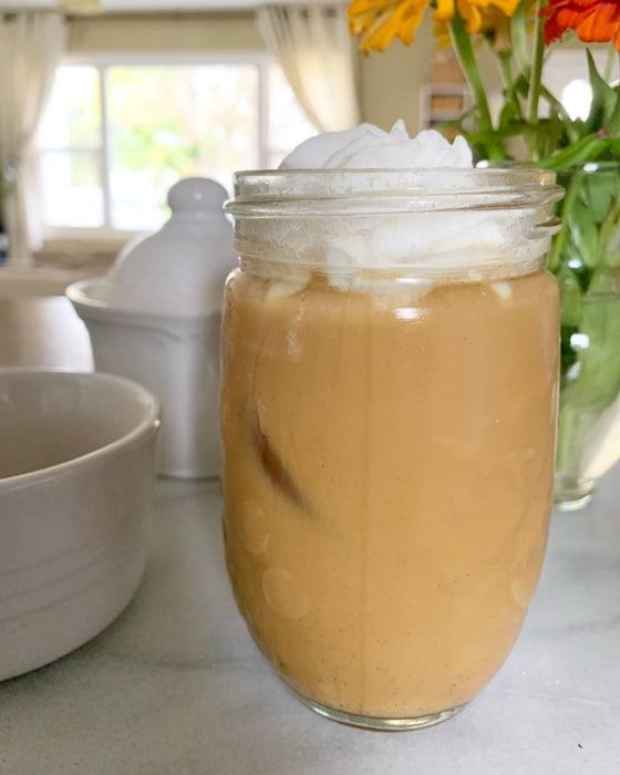 pumpkin latte dairy free