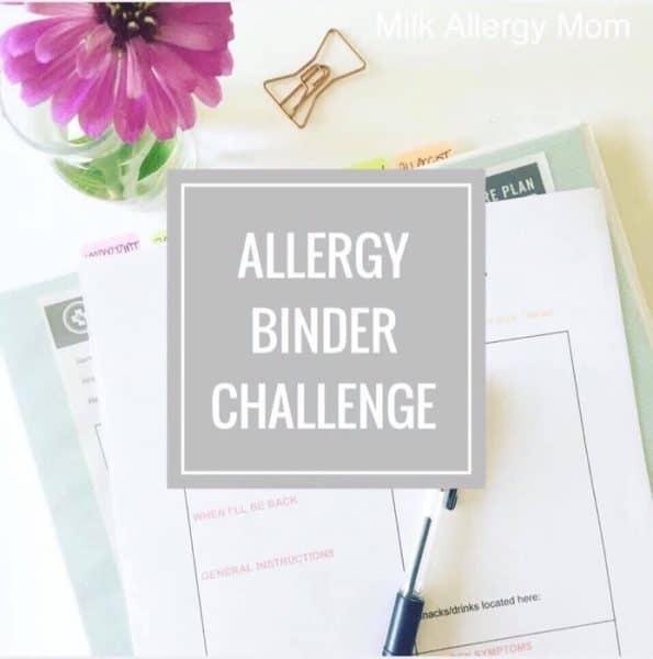 FREE Allergy Binder Challenge