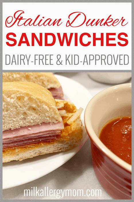 Dairy-Free Italian Ciabatta Sandwiches