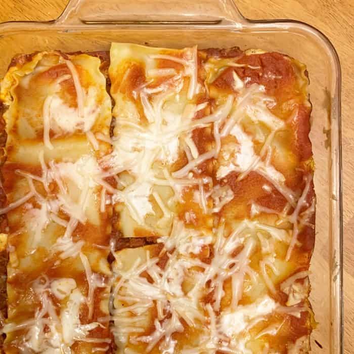 dairy egg free lasagna recipe