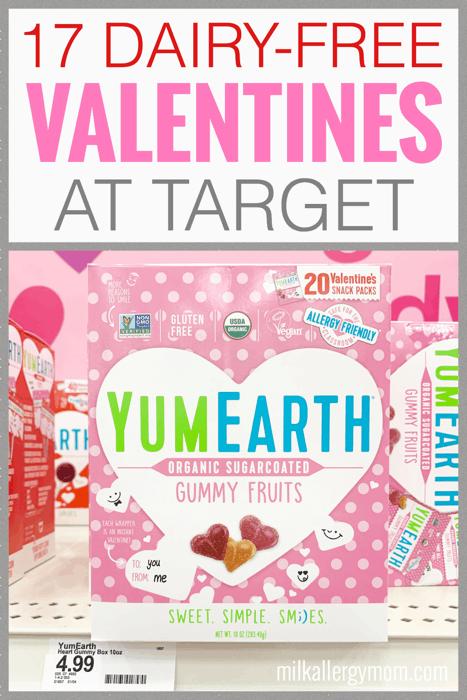 dairy-free valentines at target